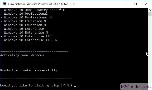 2 ways to activate Windows 10 for FREE without any software