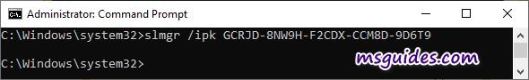 install windows 8 trial client key