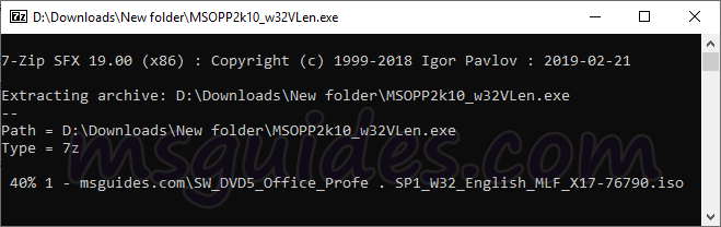 run sfx file - Download Microsoft Office / Windows OS for FREE (ALL versions)
