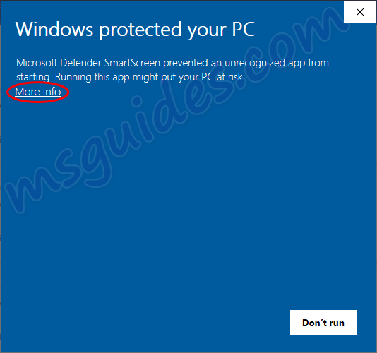 windows protected your pc alert - Download Microsoft Office / Windows OS for FREE (ALL versions)