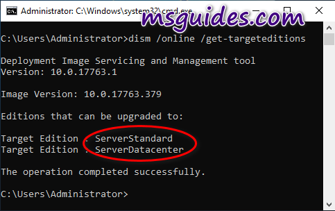 how to convert windows server evaluation to retail version 3 - Quickly convert Windows Server Evaluation edition to the retail one